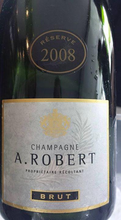Champagne A. Robert – Cuvée Réserve 2008 – Brut