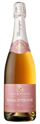 Champagne Daniel Etienne – Cuvée Rosé – 1er Cru
