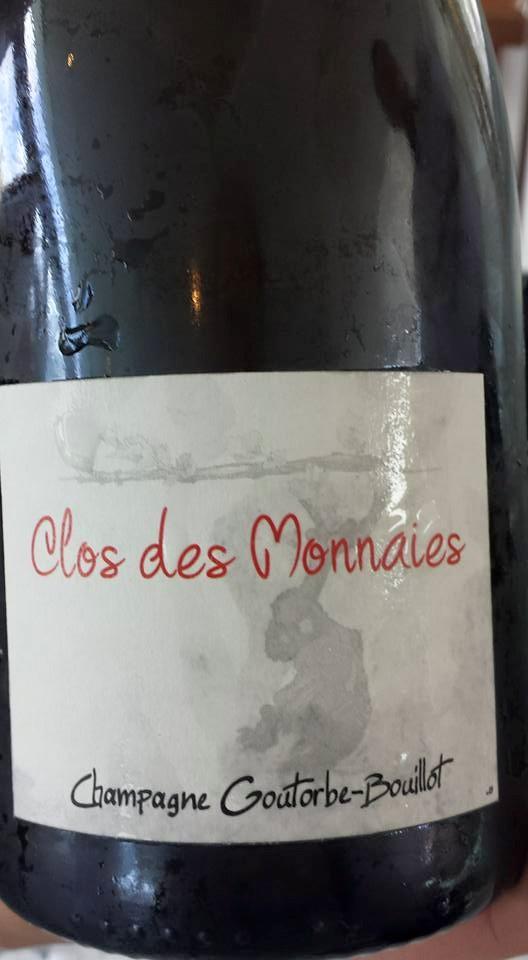 Champagne Goutorbe-Bouillot – Cuvée Clos des Monnaies 2010