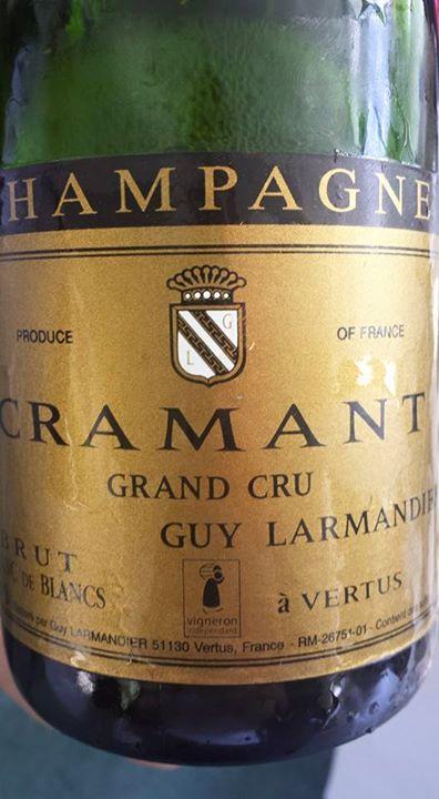 Champagne Guy Larmandier – Cuvée Cramant – Brut – Grand Cru – Blanc de Blancs