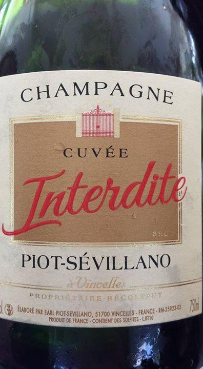 Champagne Piot Sévillano – Cuvée Interdite – Brut