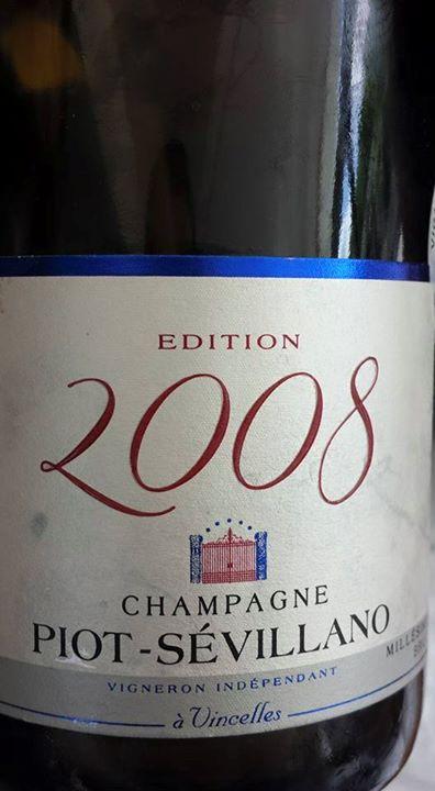 Champagne Piot Sévillano – Cuvée Millésime 2008