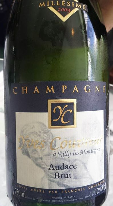 Champagne Yves Couvreur – Cuvée Audace 2009 – Brut – 1er Cru