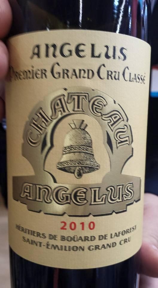 Château Angélus 2010 – Saint-Emilion Grand Cru – 1er Grand Cru Classé