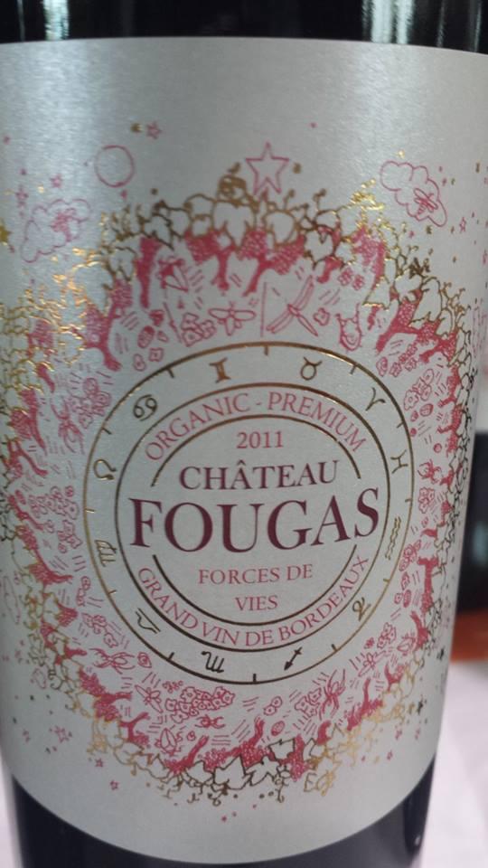 Château Fougas – Forces de Vies 2011 – Côtes de Bourg