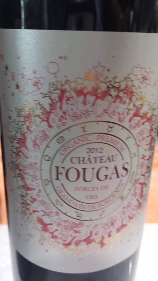 Château Fougas – Forces de Vies 2012 – Côtes de Bourg