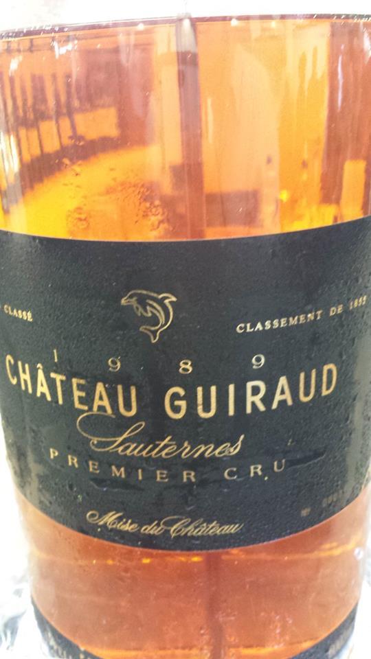 Château Guiraud 1989 – 1er Cru Classé à Sauternes