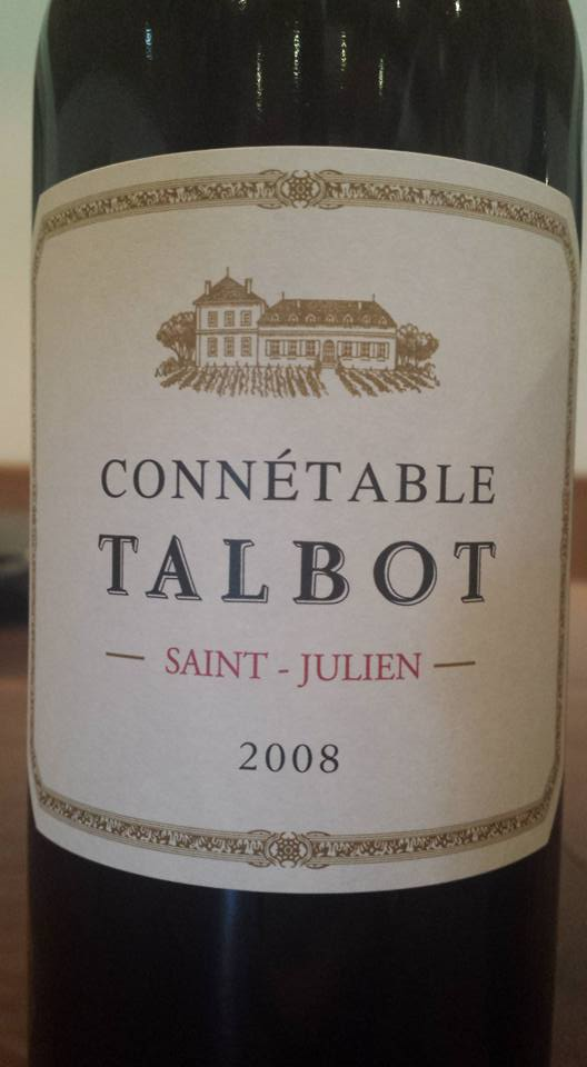 Connétable de Talbot 2008 – Saint-Julien