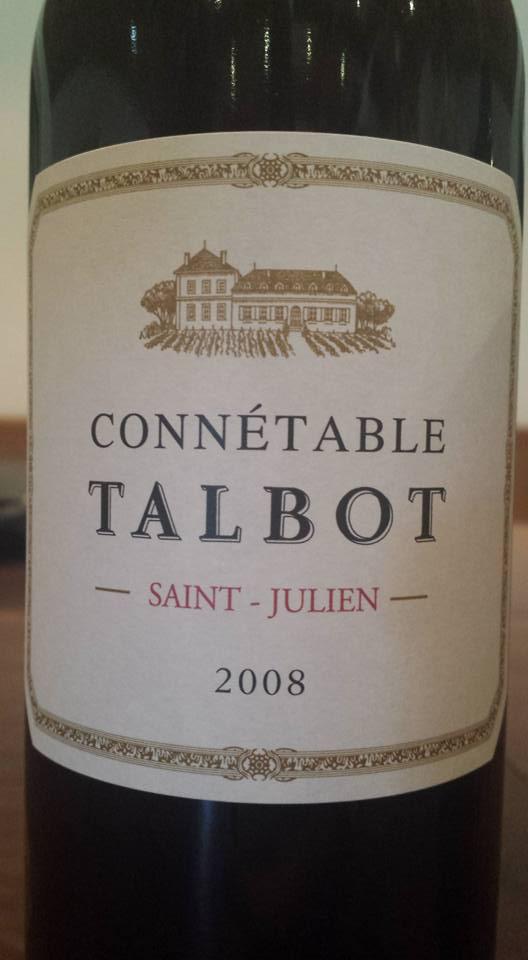 Connétable de Talbot 2008 – Saint-Julien
