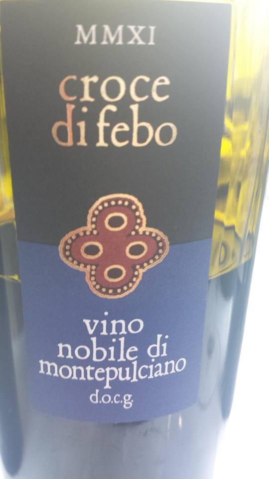 Croce di Febo 2011 – Vino Nobile di Montepulciano