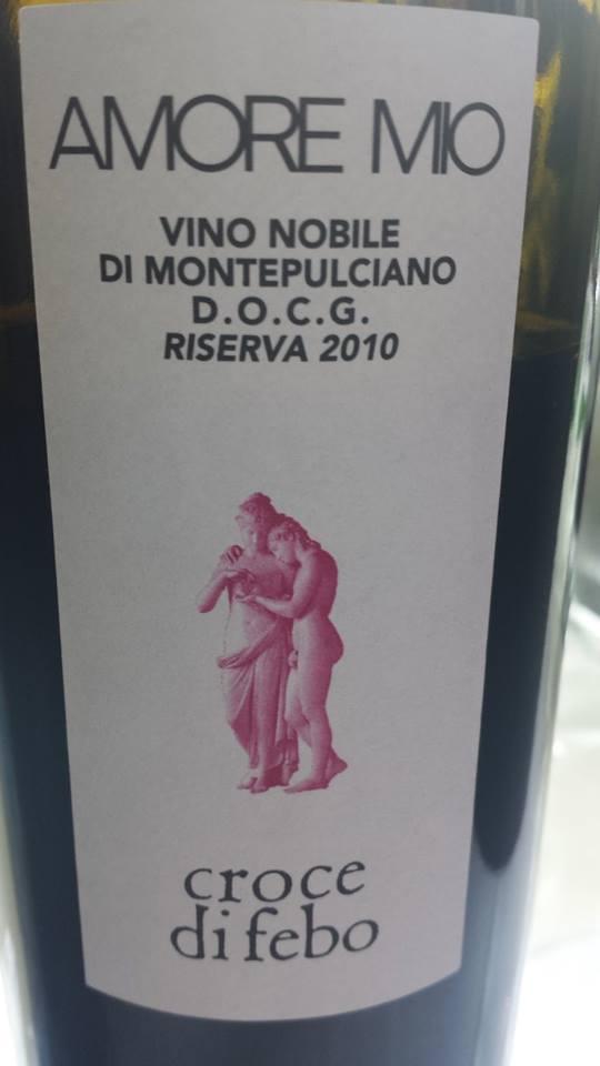 Croce di Febo – Amore Mio 2010 Riserva – Vino Nobile di Montepulciano