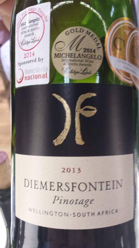 Diemersfontein – Pinotage 2013 – Wellington