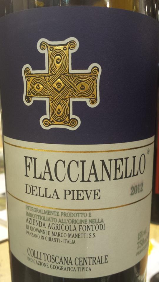 Fontodi – Flaccianello Della Pieve 2012 – Colli Toscana Centrale IGT
