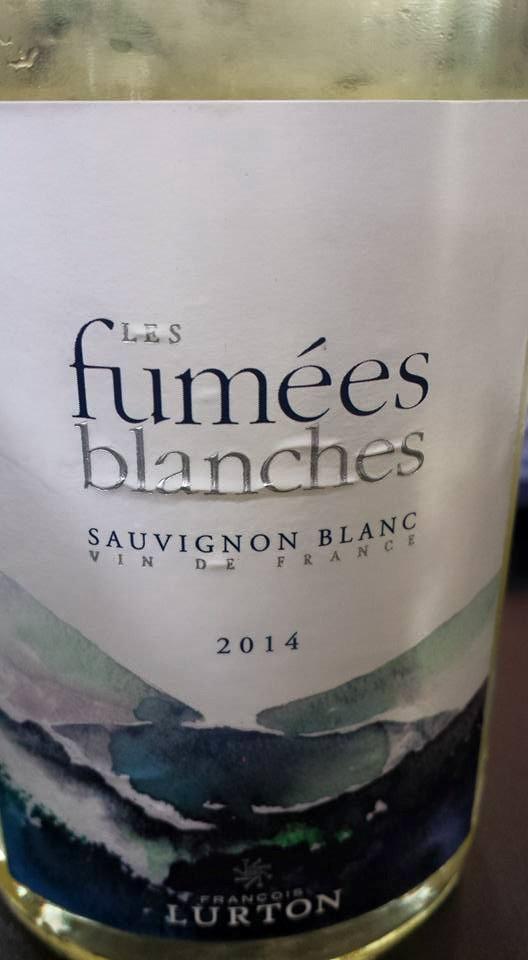 François Lurton – Fumée Blanche 2014 – IGP Côtes de Gascogne