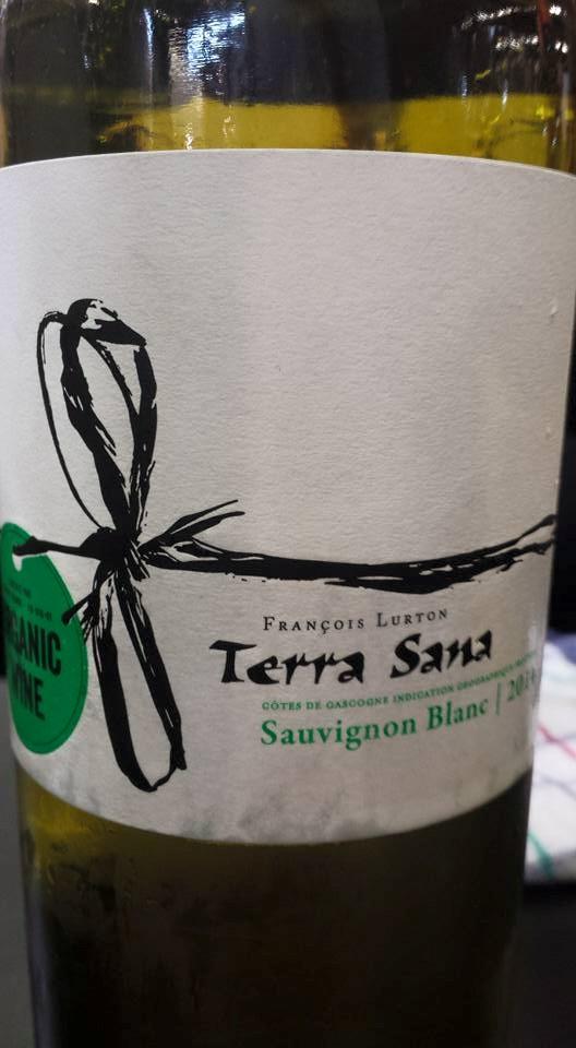 François Lurton – Terra Sana – Sauvignon Blanc 2014 – Côtes de Gascogne