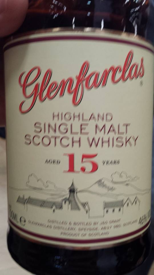 Glenfarclas – Single Malt Scotch Whisky – Aged 15 years