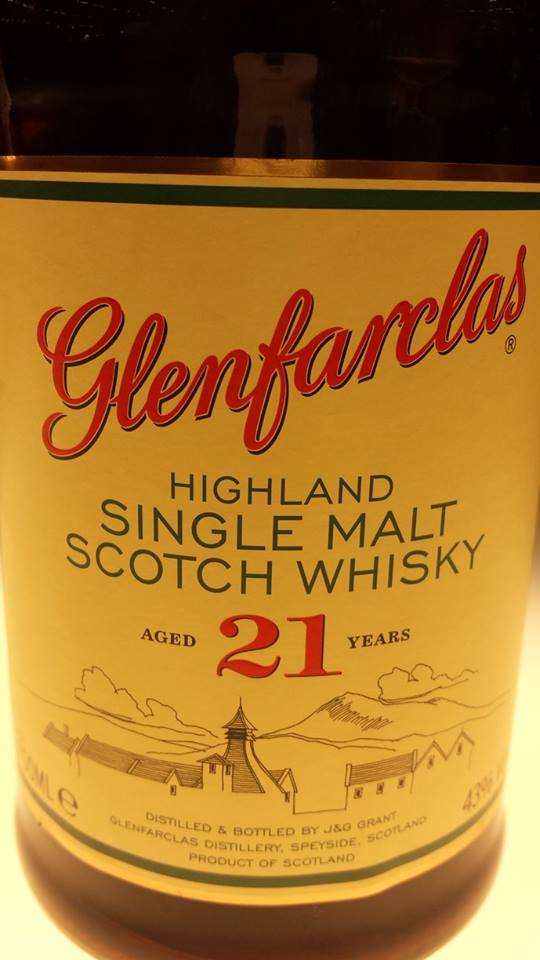 Glenfarclas – Single Malt Scotch Whisky – Aged 21 years