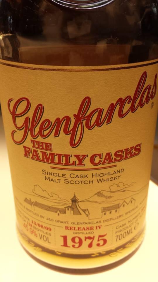 Glenfarclas – The Family Casks 1975 – Release IV – Single Cask – Highland Single Malt Scotch Whisky