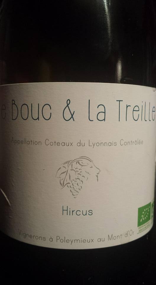 Le Bouc et La Treille – Cuvée Hircus 2013 – Coteaux du Lyonnais