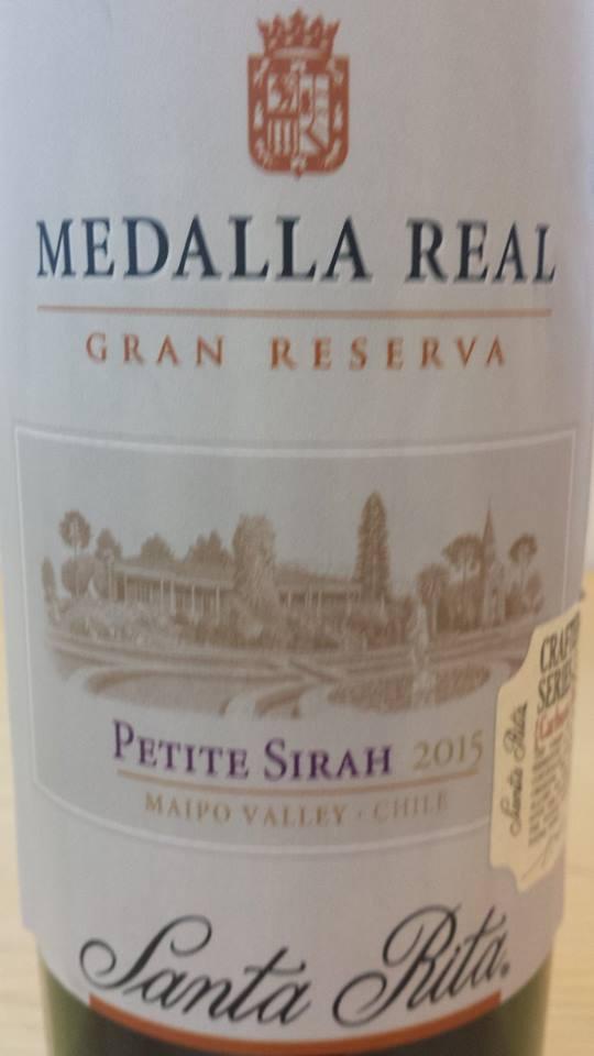 Medalla Real – Gran Reserva – Petite Sirah 2015 – Maipo Valley – Chile