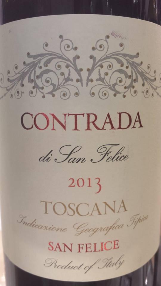 San Felice – Contrada Di San Felice 2013 – Toscana IGT