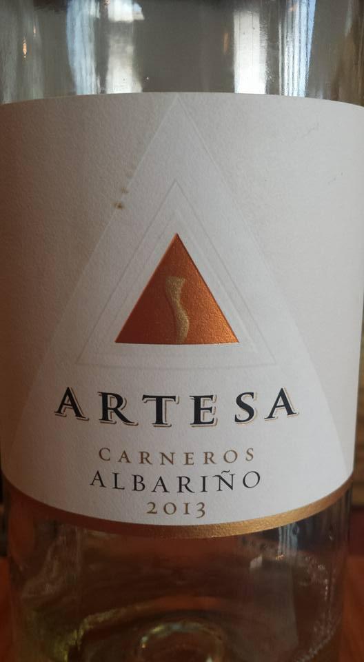 Artesa Winery – Albariño 2013 – Carneros – Napa Valley