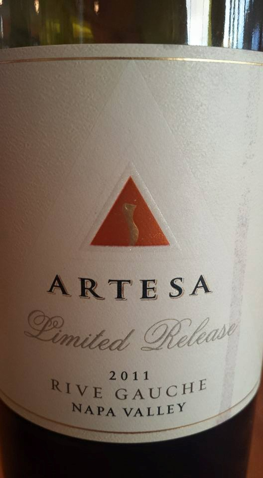 Artesa Winery – Limited Release – Rive Gauche 2011 – Napa Valley