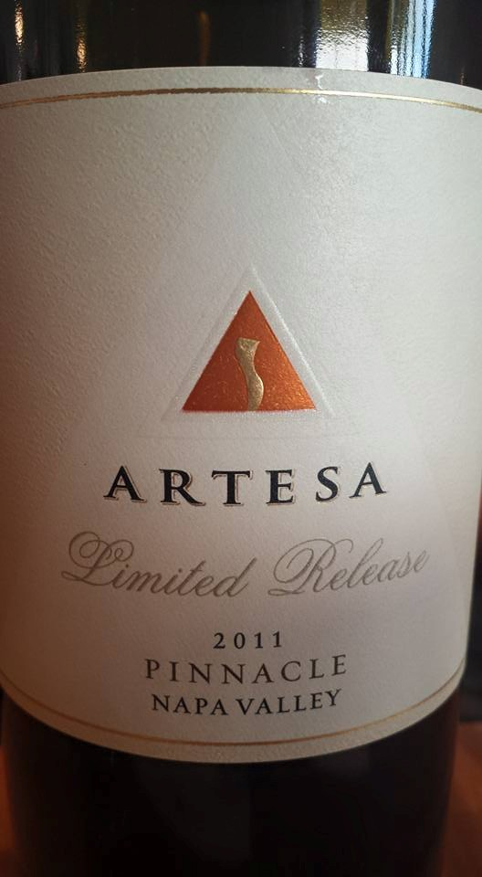 Artesa Winery – Limited Release – Pinnacle 2011 – Napa Valley