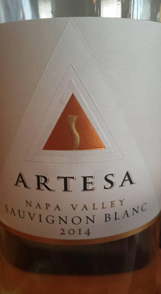 Artesa Winery – Sauvignon Blanc 2014 – Napa Valley