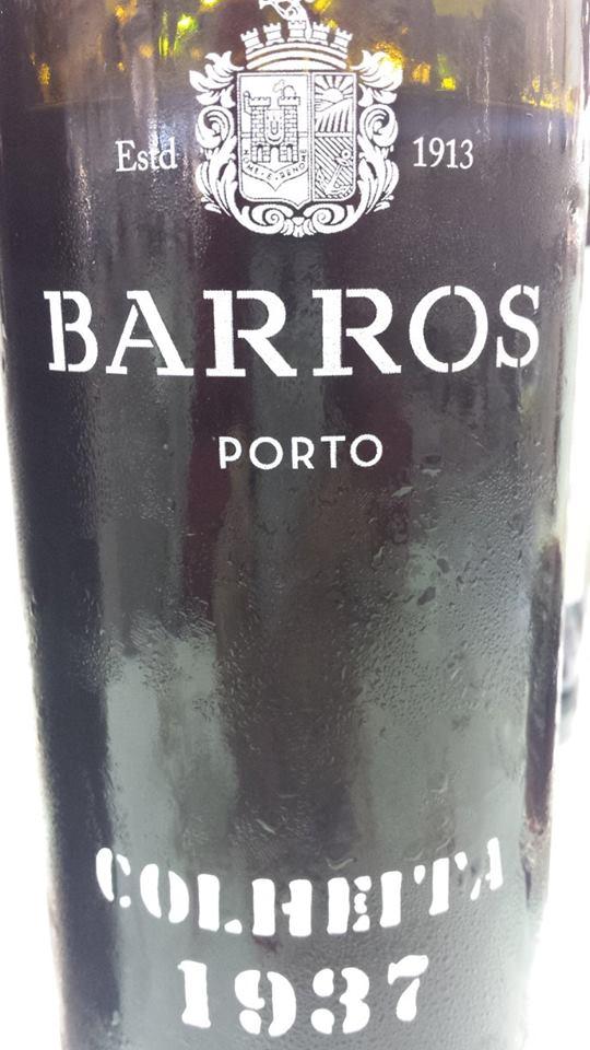 Barros – Colheita 1937 – Porto