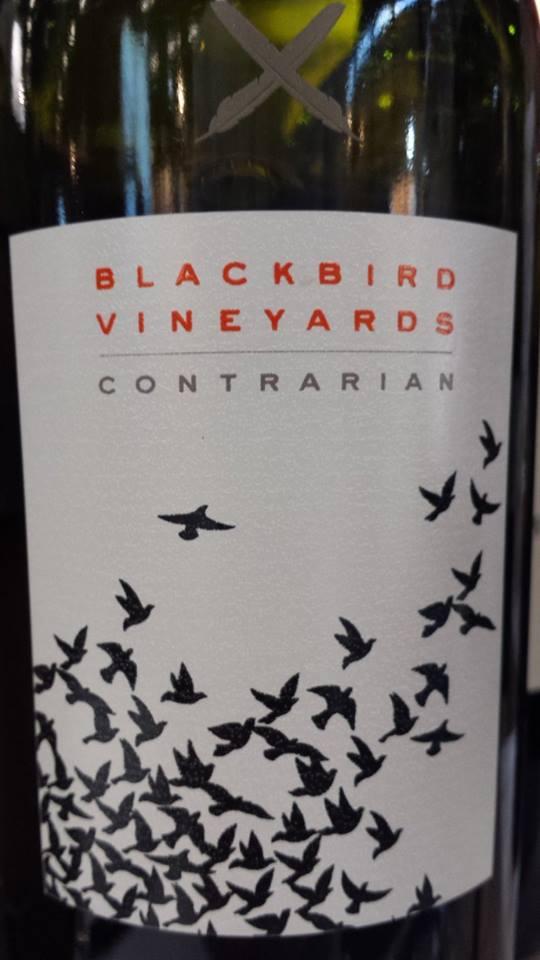Blackbird Vineyard – Contrarian 2012 – Napa Valley