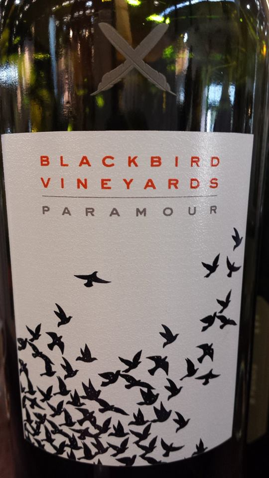 Blackbird Vineyards – Paramour 2012 – Napa Valley