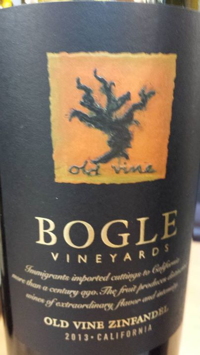 Bogle Vineyards – Old Vine Zinfandel 2013 – California