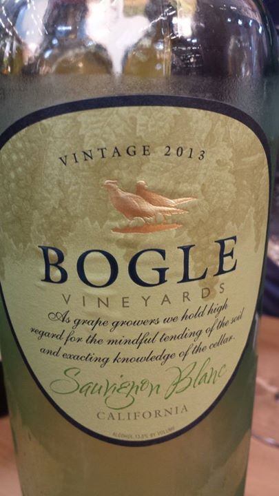 Bogle Vineyards – Sauvignon Blanc 2013 – California