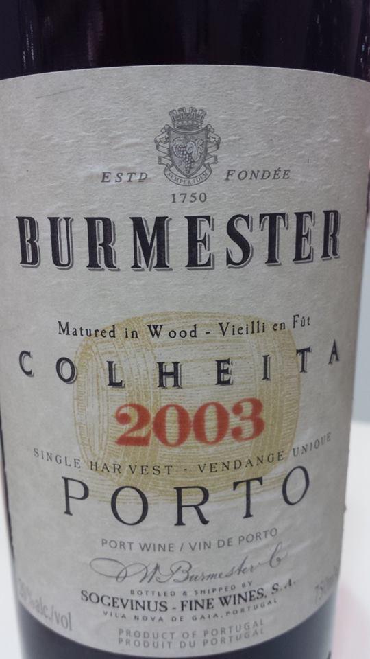 Burmester – Colheita 2003 – Porto