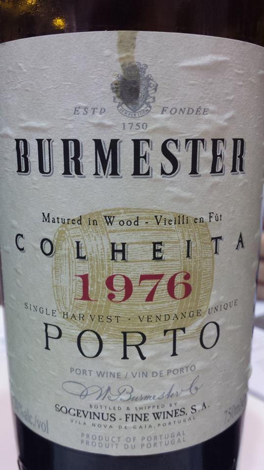 Burmester – Colheita 1976 – Singler Harvest – Porto