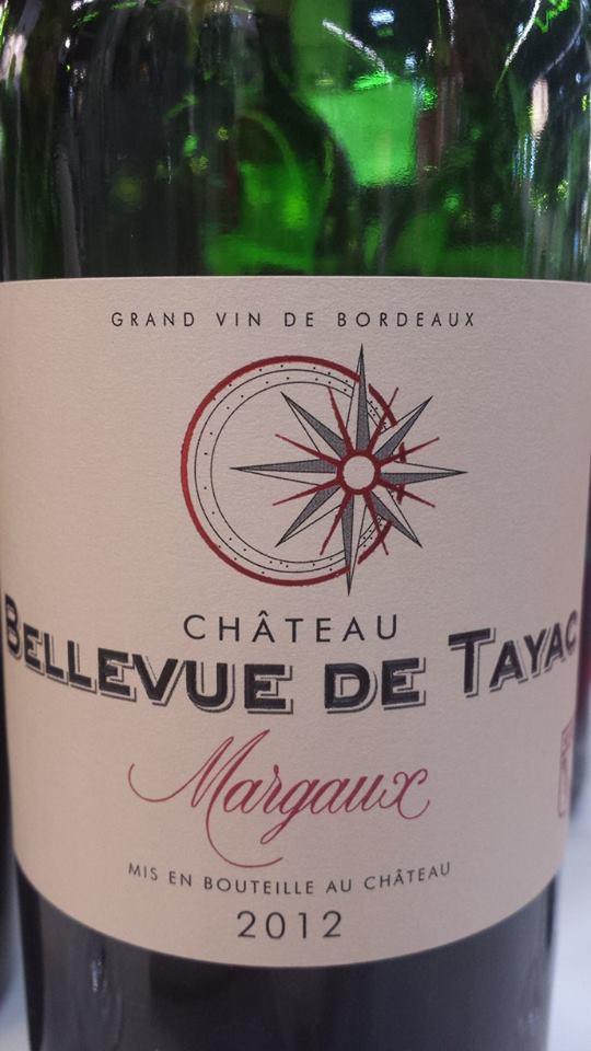 Château Bellevue de Tayac 2012 – Margaux