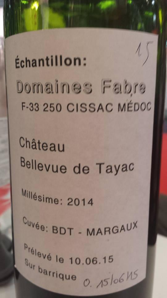 Château Bellevue de Tayac 2014 – Margaux