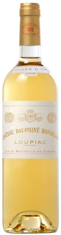 Château Dauphiné Rondillon – Cuvée d'Or 2009 – Loupiac