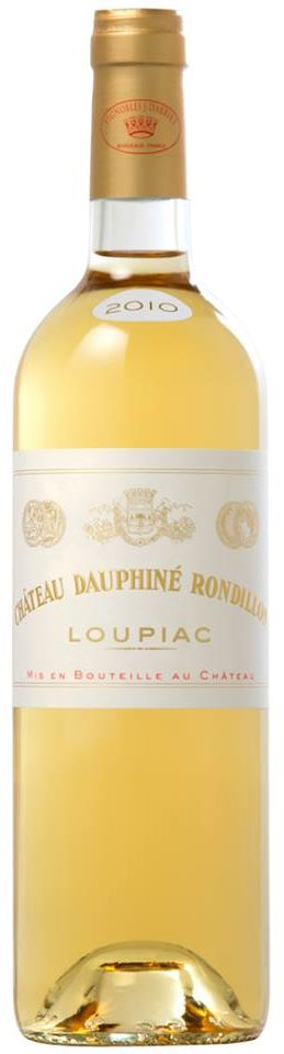 Château Dauphiné Rondillon 2010 – Loupiac