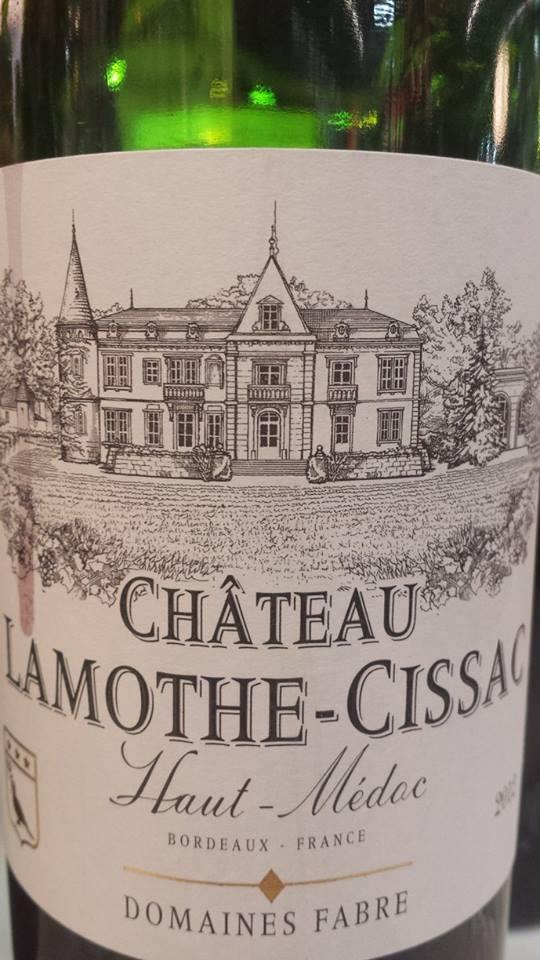 Château Lamothe Cissac 2012 – Haut-Médoc