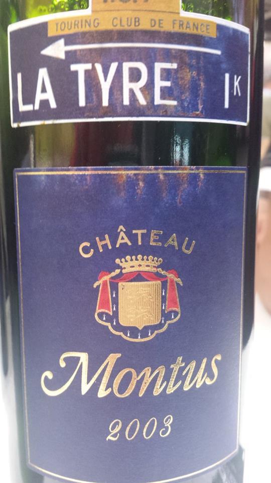 Château Montus – Cuvée La Tyre 2003 – Madiran