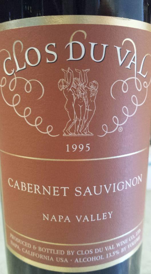 Clos du Val – Cabernet Sauvignon 1995 – Napa Valley