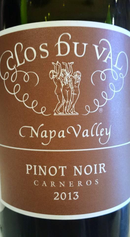 Clos du Val – Pinot Noir 2013 – Carneros