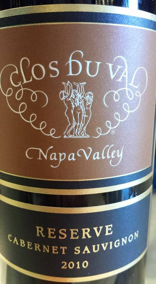 Clos du Val – Reserve Cabernet Sauvignon 2010 – Napa Valley