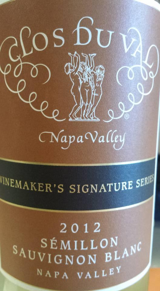 Clos du Val – Sémillon & Sauvignon Blanc 2012 – Winemaker's Signature series – Napa Valley