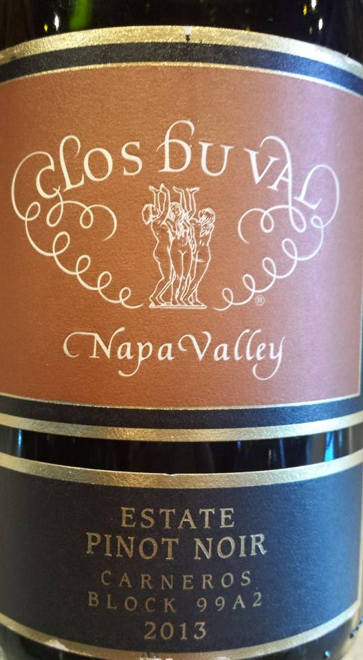 Clos du Val – Estate Pinot Noir 2013 – Block 99A2 – Napa Valley