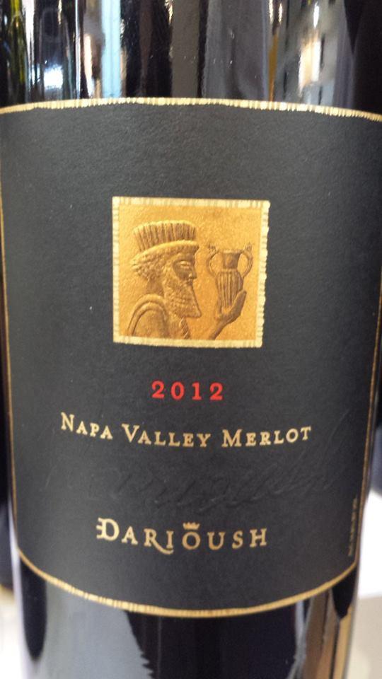 Darioush – Signature Merlot 2012 – Napa Valley