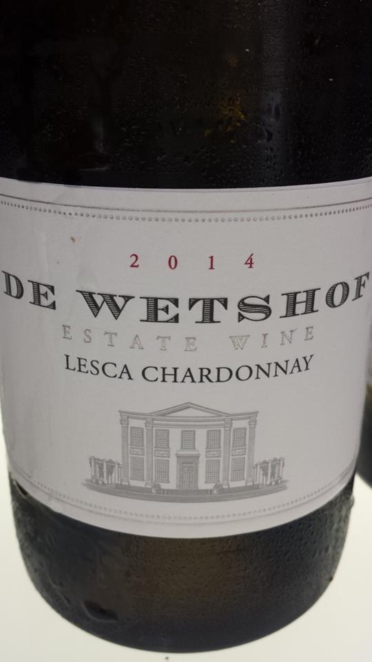 De Wetshof – Lesca Chardonnay 2014 – Robertson