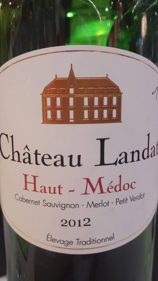 Domaine Fabre – Château Landat 2012 – Haut-Médoc